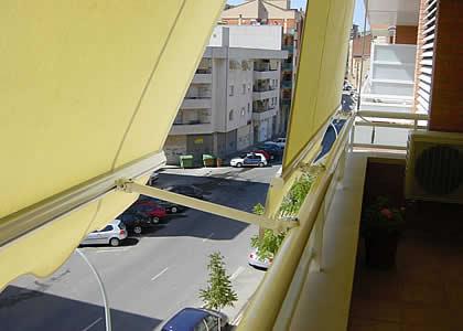 balcony awning costa blanca