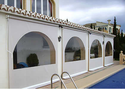 Vertical Blind Costa Blanca Awnings Sunblinds